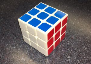 My solved Cube